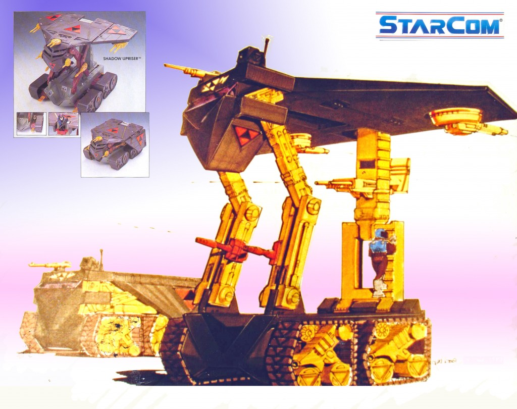 Starcom Shadow Upriser Vehicle